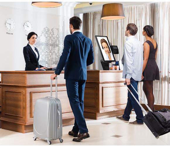 hotel Reception Virtual Front Desk