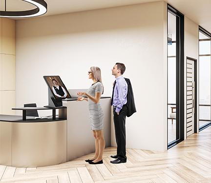 Hotel Check in Virtual Front Desk