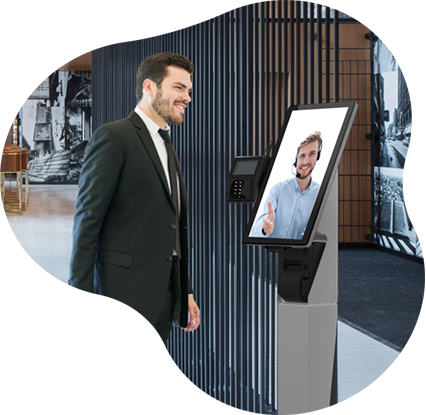 Check in Virtual Front Desk Station